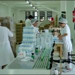 Konsis konveyör ilaç kutusu seri markalama inkjet konveyör sistemi..