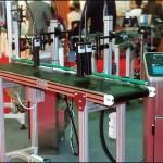 Konsis konveyör standart tek bölgeli markalama inkjet konveyör sistemi..