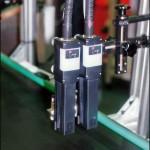 Konsis konveyör standart tek bölgeli markalama çift kafa inkjet konveyör sistemi..