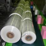 Konsis konveyör – Vatan plastik makine çıkışı PVC bantlı konveyör sistemi..