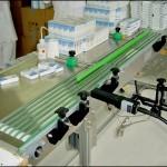 Konsis konveyör seri kutu markalama inkjet konveyör sistemi..
